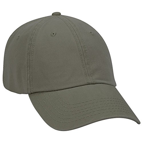 OTTO 6 Panel Low Profile Garment Washed Superior Cotton Twill - Ol. Green
