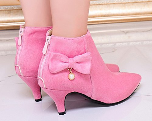 36 Pink HiTime Winter EU 5 Montants Rose Femme xwqqCpPX