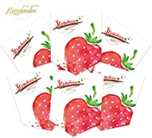 Watermelon NICROLANDEE Fruit Pattern Banner Wedding Party Decor Paper Garland Banner Tea Party Supplies Bunting Flag for Wedding Baby Shower Bridal Shower First Birthday Festival Home Decoration