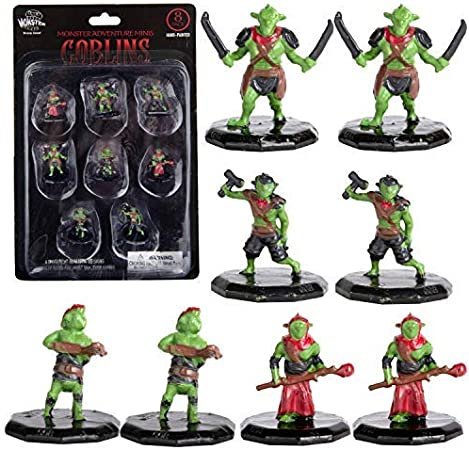 Dungeons And Dragons Painted Mini Figures Painted Goblin Miniatures Set For D D And Other Tabletop Games 8pk Miniatures Amazon Canada