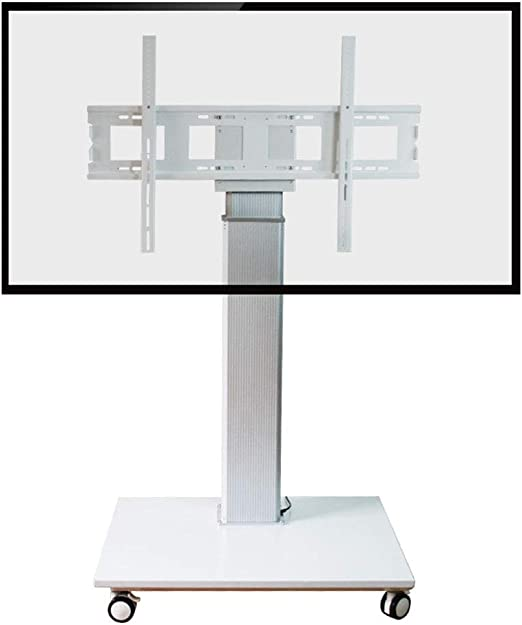 Xue Plano TV Stand Mount, TV Carro Altura de Ajuste A Distancia ...
