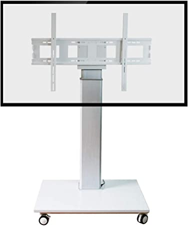 Xue Plano TV Stand Mount, TV Carro Altura de Ajuste A Distancia para 42 – 65 Pulgadas