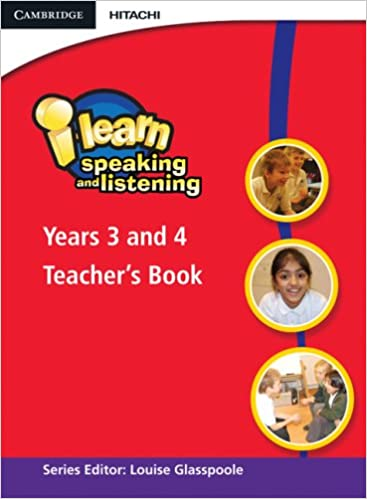 i-learn: Speaking and Listening Years 3 and 4 Teacher's Book: Year 3