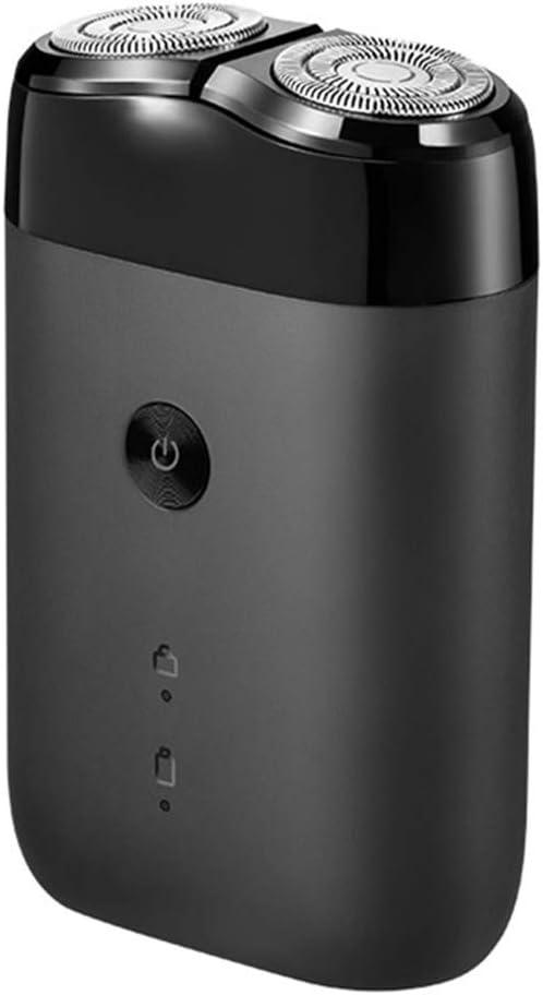 Afeitadora eléctrica original Xiaomi mijia para hombres giratoria 2 cabeza flotante portátil impermeable recargable por USB: Amazon.es: Salud y cuidado personal