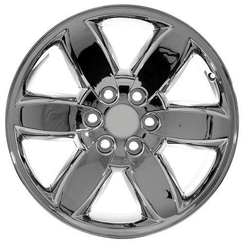 wheels fits wheel sierra gmc replica main style chrome
