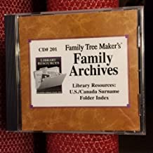 Family Tree Maker's Family Archives Library Resource: U.S./Canada Surname Folder Index