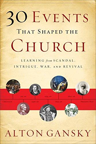 30 Events That Shaped the Church: Learning from Scandal, Intrigue, War, and Revival
