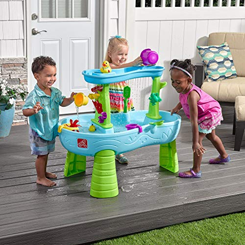 (Rain Showers Splash Pond Water Table Playset (Deluxe Pack: includes Toys &)