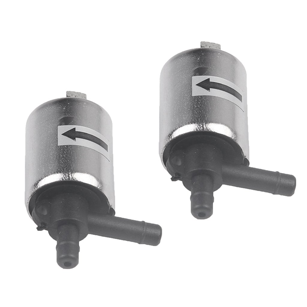 Dolity 2Pcs Micro Solenoid Valve 12v DC Electric Water Air Gas Valve Normally Closed