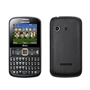 """Samsung Ch@t 222 2.2"""" 90g Negro - Teléfono móvil (5,59 cm (2.2""""), 220 x 176 Pixeles, TFT, 45 MB, 16 GB, 4x)"""