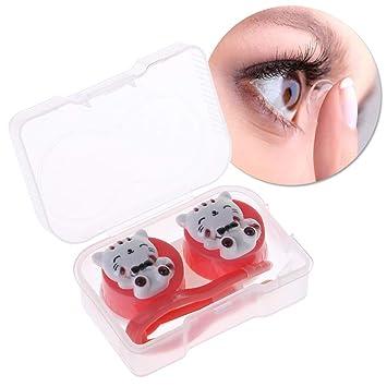 Amazon.com: SU QIAO - Estuche para lentes de contacto, 1 ...