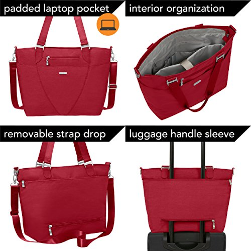 Removable resistant Water Tote Apple Adjustable Crossbody pocketed With Bag Avenue Travel Multi Lightweight Strap Baggallini And Purse O1qHR0A
