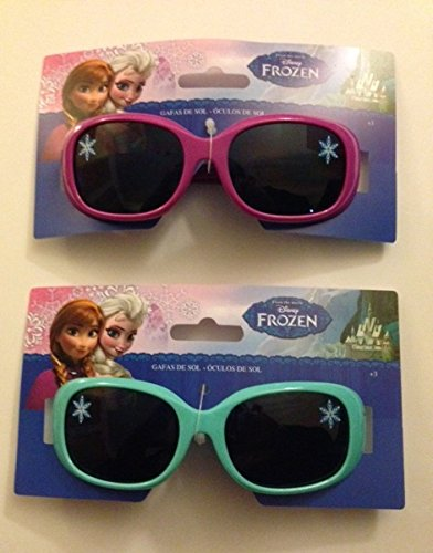 238a7ef39be43 Kids Children Disney Frozen Elsa and Anna Accessory Girls Sunglasses One  Size  Amazon.co.uk  Toys   Games