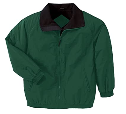 Fleece-Lined Nylon Jacket at Amazon Men's Clothing store ...