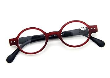3f7b712794 Designer Small round Oval Vintage Spring Hinge Reading Glasses Eyeglasses  Readers (+1.75