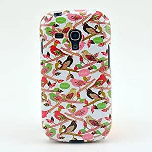 LZX The Birds Perched Pattern TPU Soft Case for Samsung Galaxy S3 Mini I8190