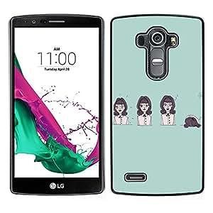 Dragon Case - FOR LG G4 - Life is like a play - Caja protectora de pl??stico duro de la cubierta Dise?¡Ào Slim Fit