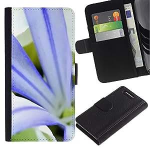 Stuss Case / Funda Carcasa PU de Cuero - Planta Naturaleza Forrest Flor 79 - Sony Xperia Z3 Compact
