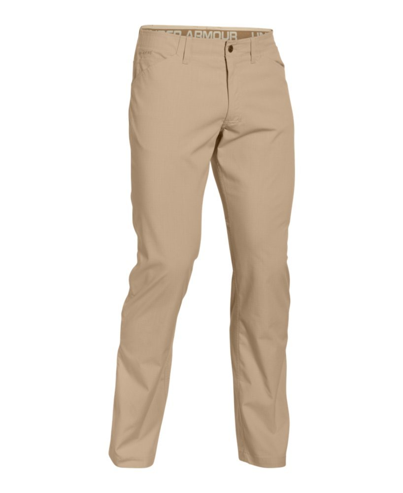 Under Armour Men's Storm Covert Tactical Pants, Enamel /Saddle, 30/32 by Under Armour (Image #4)