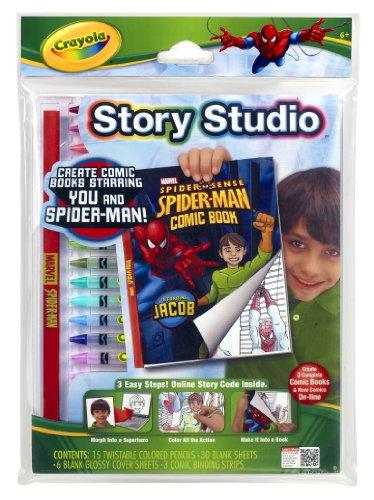 Crayola Story Studio Comic Maker Spiderman