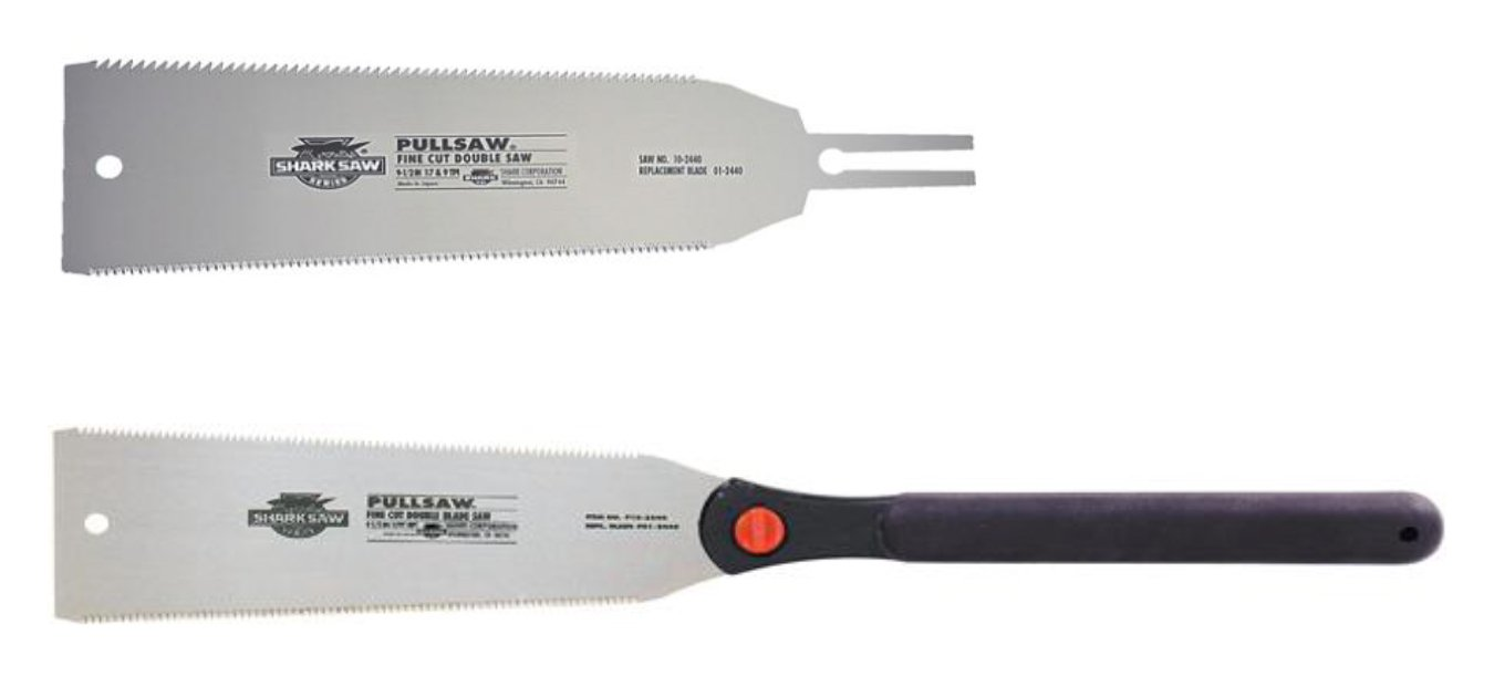Shark Corporation 58-2440 Fine Cut Double Saw with 01-2440 Replacement Blade