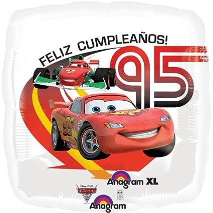 Amazon.com: Anagram International Cars 2 Feliz Cumpleanos ...