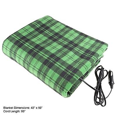 Stalwart 75-BP900 Black Green Electric Auto Blanket: Home & Kitchen