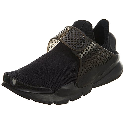 Nike Women's Sock Dart Black/Black Volt Running Shoe 7 Women US (Shoes Laceless Nike)