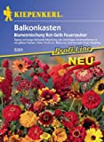 Blumenmischung Balkonkastenblumen Feuerzauber Rot + Gelb