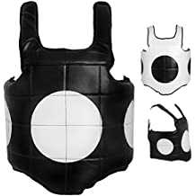 AKRON Boxing Martial Arts Chest Body Protector Guard MMA Muay Thai Armour Kickboxing