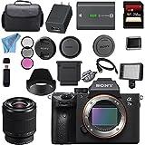 Sony ILCE7M3/B Alpha a7 III (A7M3) Mark 3 Mirrorless Digital Camera (Body Only) + Sony FE 28-70mm f/3.5-5.6 OSS Lens + 128GB SDXC Card Bundle
