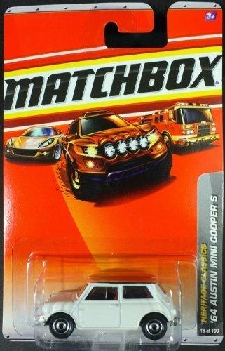 Matchbox 2010, '64 Austin Mini Cooper S # 19/100, Heritage Classics. 1:64 Scale.