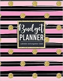 Uwm Calendar 2020 Budget planner calendar and organizer 2020    Amazon.com