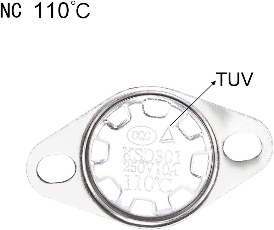 uxcell Microwave Thermostat for LG TUV Certification 110/°C