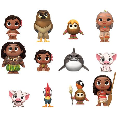 Funko Mystery Minis Disney Moana Complete Collection Set Of 12