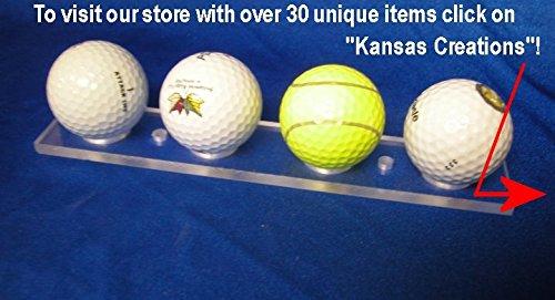 Golf Ball Display Rack - 4 Balls (Clear) (Boat Kayak Show Rack)