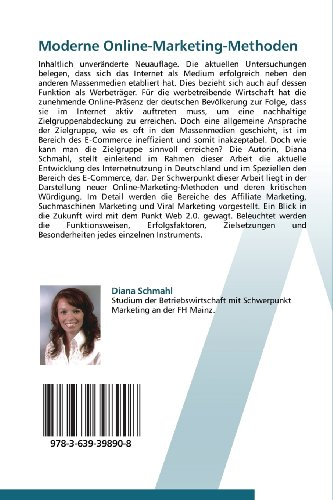 Moderne-Online-Marketing-Methoden-Affiliate-Marketing-Suchmaschinen-Marketing-Viral-Marketing-und-Web-20-German-Edition