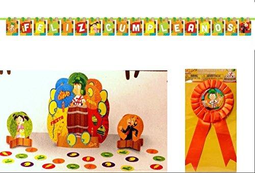 El Chavo Del Ocho Party Decorating Kit