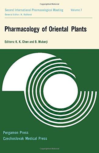 Pharmacology of Oriental Plants ebook
