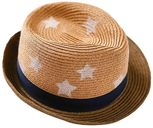 La Vogue-Cappello Paglia Jazz Stella Hats Bambine Blu Circonferenza  45-47cm f433c88a0250