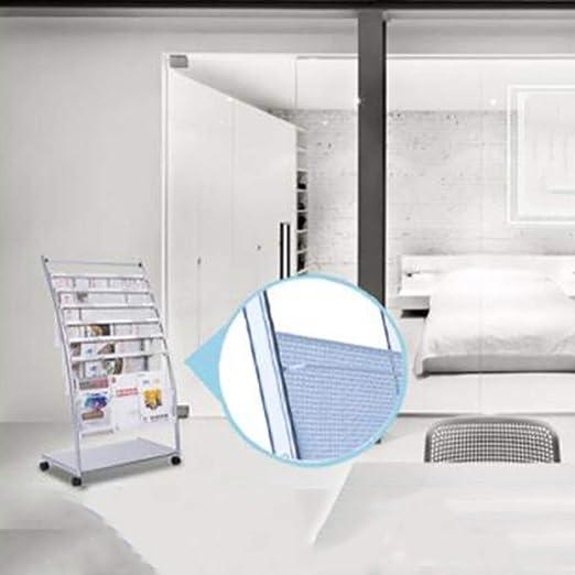 Amazon.com: Perchero de periódicos, estante para archivos ...