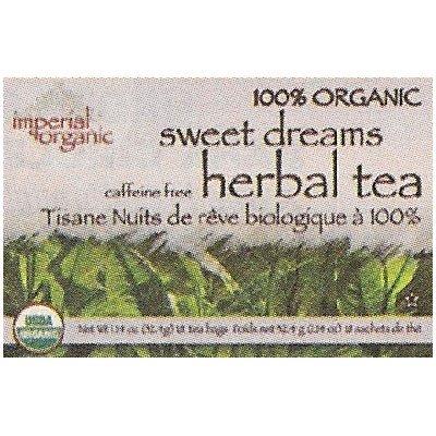 Uncle Lees Tea Imperial Organic Sweet Dreams Herbal Tea 18 Tea (Imperial Organic Sweet)