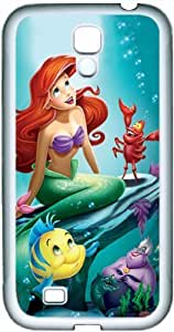Disney The Little Mermaid theme samsung galaxy S4 phone shell (TPU material) white phone accessories designed by micase