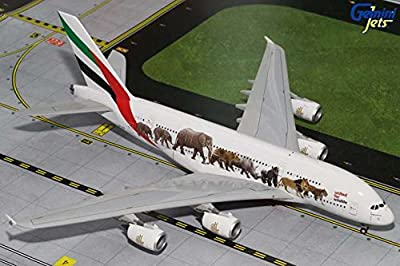 Gemini200 Emirates A380-800 'Wildlife 1' Airplane Model