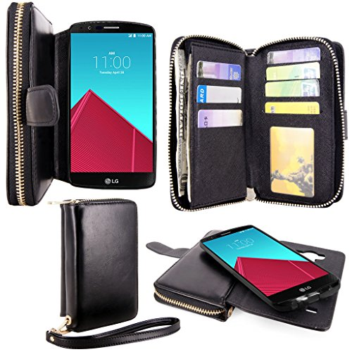 Cellularvilla Premium Leather Magnetic Detachable