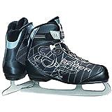 Bauer Women's React Recreational Ice Skates, Black, R 07.0