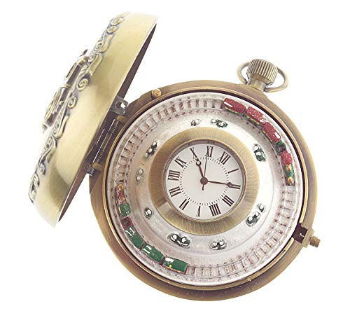 Train Animated - Gold Label Mr. Christmas Musical Animated Train Pocket Watch