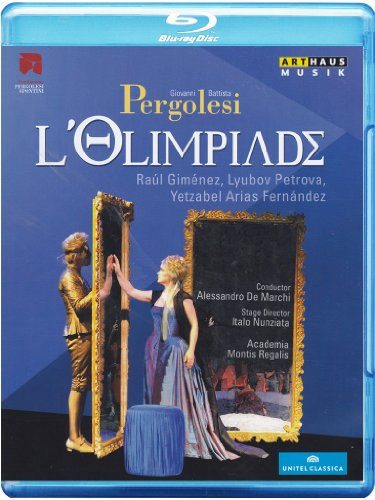 G.B. Pergolesi - L\'olimpiade (Blu-ray)