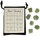 GREEN AVENTURINE - RUNES - Gemstone Elder Futhark