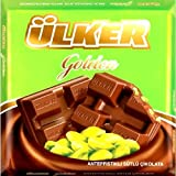 ulker chocolate - Ulker Chocolate Bar with Pistachio – 2.8oz